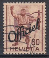 ZWITSERLAND - Michel - 1942 - Nr 56 - Gest/Obl/Us - Dienstpost