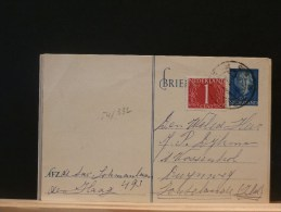54/332   BRIEKAART  1955   BIJFRANKERING - Postal Stationery