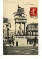Cp , 63 , CLERMONT FERRAND , La Statue De VERCINGETORIX , Voyagée - Clermont Ferrand