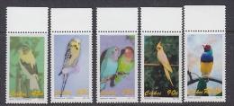 Ciskei 1993 Birds Parrots 5v ** Mnh (24226) - Ciskei