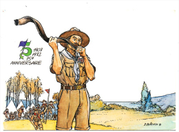 Lille Nord Scoutisme Baden Powell 75ème Anniversaire Brownsea 1982 état Superbe - Scoutismo