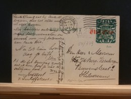 54/349   BRIEFKAART   1921 - Postal Stationery
