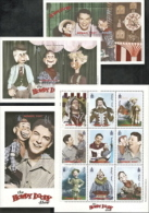 Mongolia,  Scott 2015 # 2349-2352,  Issued 1999,  Sheet Of 9 + 2 S/S,  MNH,  Cat $ 14.00,  Howdy Doody - Mongolia