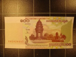 Cambodge 100 Riels 2001  Neuf - Cambodia
