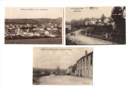 Recey Sur Ource, Lot De 7 Cpa, La Gare, Route De Dijon ...écrites ( N° D252 ) - Altri Comuni