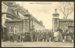 HESDIN Rare L'Entrée De La Caserne Tripier 73° Rgt (Herbay) Pas De Calais (62) - Hesdin