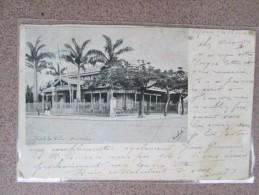 NOUVELLE CALEDONIE   NOUMEA  HOTEL DE VILLE DOS 1900 - Nueva Caledonia