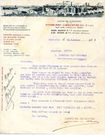 FACTURE - ( 13 ) SOCIETE DES OLEONAPHTES DE LA PITTSBURGH LUBRICATING OIL SIEGE DE MARSEILLE - 1923 - France