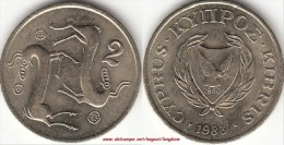 CIPRO 2 Cents 1983 KM#54.1 - Used - Cipro