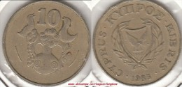 CIPRO 10 Cents 1983 KM#56.1 - Used - Cipro