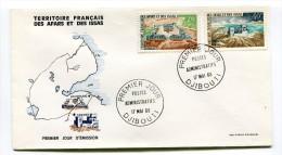AFARS Et ISSAS - Enveloppe Premier Jour - N° 337 Et 340 - Postes Administratifs Du 17 Mai1968 - Brieven En Documenten