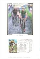 France  -  Paris-Roubaix  -  Carte 1er  Maximum  -  FDC - Ciclismo