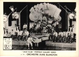 5 Postcards Jazz Club Portrait Gallery Ramblers Duke Ellington Artie Shaw Joe Daniels Jean Omer Performers Big Band - Artistes