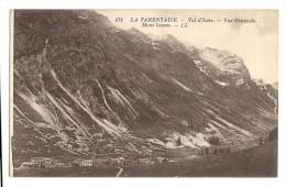 Cp, 38, La Tarentaise, Val D'Isère, Vue Générale, Mont Iseran - Autres Communes