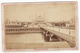 CARTE Photo Ancienne Paris Palais Du Trocadéro 19ème - Automobili