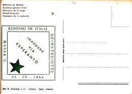 KUNVENO DE ITALAJ INAUGURO VIA  ESPERANO 1964/ MARINA DI MASSA - Esperanto