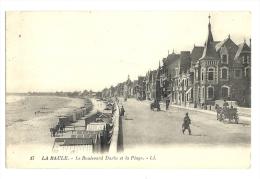 Cp, 44, La Baule, Le Boulevard Et La Plage, Voyagée - La Baule-Escoublac