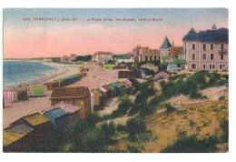 Cp, 44, Pornichet, La Plage Prise Des Duenes, Vers La Baule, Voyagée 1928 - Pornichet