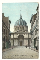"""Cp, 44, Nantes, Eglise St-Louis - Publicité Au Verso : Le Thé De Chine """"Le Délicieux"""" - Nantes"""