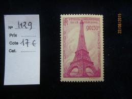 FRANCE  NEUF . Fêtes Du Cinquantenaire De La Tour-Eiffel . N° 429 , Très Bon état  **, Gomme D´origine - Francia