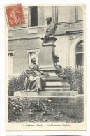 Cp, 59, Le Cateau, Le Monument Seydoux, Voyagée 1908 - Le Cateau