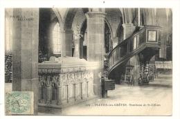 Cp, 22, Plestin-les-Grèves, Tombeau De ST-Efflam, Voyagée - Plestin-les-Greves