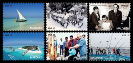 MALDIVES MALEDIVEN 2015 ** 50th Independence Of Maldives 6v - OFFICIAL ISSUE - A1533 - Cultures