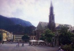 Bolzano - Piazza Walther Col Duomo - 1-166 - Formato Grande Viaggiata - Bolzano (Bozen)