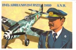 Adriano Visconti  -  Ace Italien WWII  -  Art Carte Par Brovarone  -  CPM - Aviateurs
