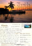 Sunset, Florida, United States US Postcard Posted 2008 Stamp - Etats-Unis