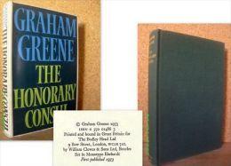 « The HONORARY CONSUL » Graham GREENE – 1st Edition BODLEY 1973 + Jacket ! - Non Classificati
