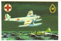Cant Z-506 Hydravion   -  Art Carte Par Brovarone  -  CPM - 1939-1945: 2ème Guerre