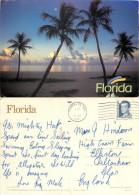 Sunrise, Florida, United States US Postcard Posted 1992 Stamp - Etats-Unis