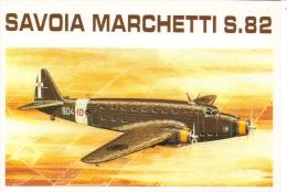 Savoia Marchetti S-82   - 1939   -  Art Carte Par Brovarone  -  CPM - 1919-1938: Entre Guerras