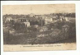 Cpa Charbonnière Les Bains, Vue Générale, Mairie, écrite , Paypal +0,40, Port 0,90 - Charbonniere Les Bains