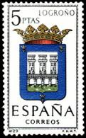 ESPAÑA SEGUNDO CENTENARIO NUEVO Nº 1555 ** 5P JAEN ESCUDOS - 1961-70 Neufs