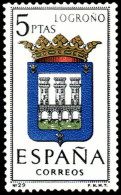 ESPAÑA SEGUNDO CENTENARIO NUEVO Nº 1555 ** 5P JAEN ESCUDOS - 1931-Aujourd'hui: II. République - ....Juan Carlos I