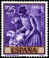 ESPAÑA SEGUNDO CENTENARIO NUEVO Nº 1556 ** 5P LUGO ESCUDOS - 1961-70 Neufs