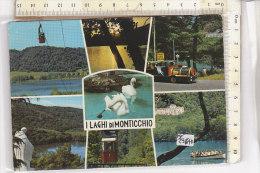 PO2964D# POTENZA - LAGHI DI MONTICCHIO - FUNIVIA - TRENINO TRENI  VG 1971