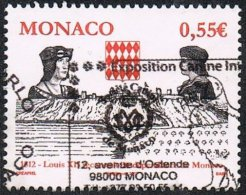 Monaco 2012 500 Years Of Independence And Sovereignty 55c Good/fine Used - Monaco
