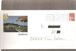 """Lettre  PAP   """"  Audierne  """" ( 29 )  Du  13 - 4 - 2000  De  Plouhinec  ( 29 )  Sur Facsimilé  N° 3083 - Postal Stamped Stationery"""