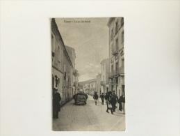 OLD POSTCARD ITALY ITALIA  Nuoro Corso Garibaldi NUORO - Nuoro