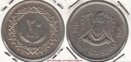 LIBIA 20 Dirhams 1975 KM#15 - Used - Libia