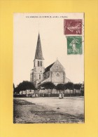 * CPA..dépt 77..VILLENEUVE Le COMTE :  L' Eglise  : Voir Les 2 Scans - Autres Communes