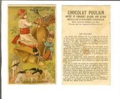 Chromo H.Laas 610 Fond Or - La Cloche Du Baptême - Poulain