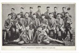 12847 -   Prvni Trubacsky Odbor Sokola V Karliné - Tchéquie