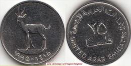 EMIRATI ARABI 25 Fils 1995 KM#4 - Used - Emirati Arabi
