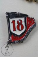 Sapeurs Pompiers Secteur 18 France - Fireman Firefighter - Pin Badge #PLS - Bomberos