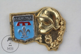 Provence Sapeurs Pompiers Secteur 18 France - Fireman Firefighter - Pin Badge #PLS - Bomberos