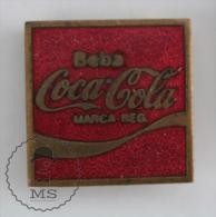 Old Coca Cola Advertising Enamel Pin Badge #PLS - Coca-Cola
